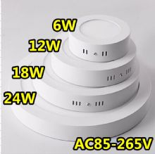 Surface Mounted LED Panel Light Circular Round Ceiling Downlight Lamp IP66 Waterproof